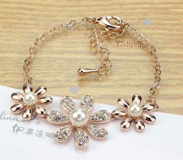 Free Shipping Italina Rigant Fashion Wholesale Jewelry 18k gold plated Austrian classic Crystal Bracelet Girlfriend Gift