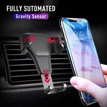 Soporte de teléfono para coche soporte para aire acondicionado sin soporte magnético para teléfono móvil soporte de teléfono móvil Universal para teléfono inteligente de gravedad