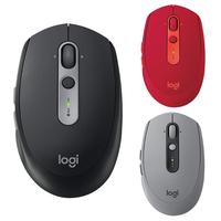 Logitech M590 Mute Wireless Bluetooth Mouse Optical Silent Mice Dual Mode Nano Receiver Home Office Mouse for PC Computer