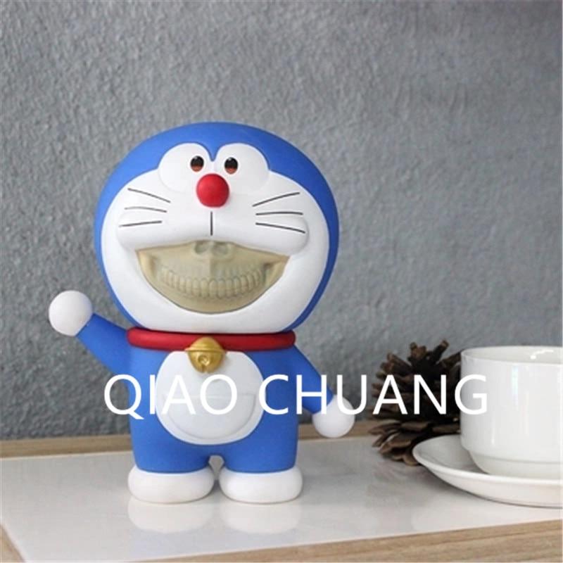 Creative Anime Doraemon Cosplay KAWS Medicom Toy OriginalFake PVC Action Figure Model Giocattolo G1226