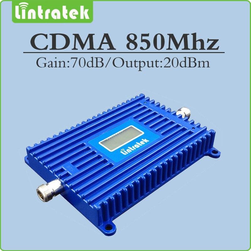 70dB cdma signal amplifier FDD Band 5 CDMA 850 mhz signal repeater GSM 850mhz mobile phone