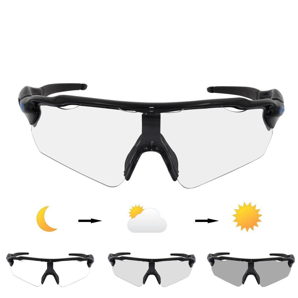 Brand Radar ev Photochromic Sunglasses 5 Lens Cycling Glasses Auto Discoloration Men MTB Mountain Bike Finshing Eyewear Goggles