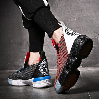 Latest Cool Ankle Basketball Shoes Men Women Cushioning Breathable Basketball Sneakers Anti-skid Athletic Outdoor Man Sport Shoe