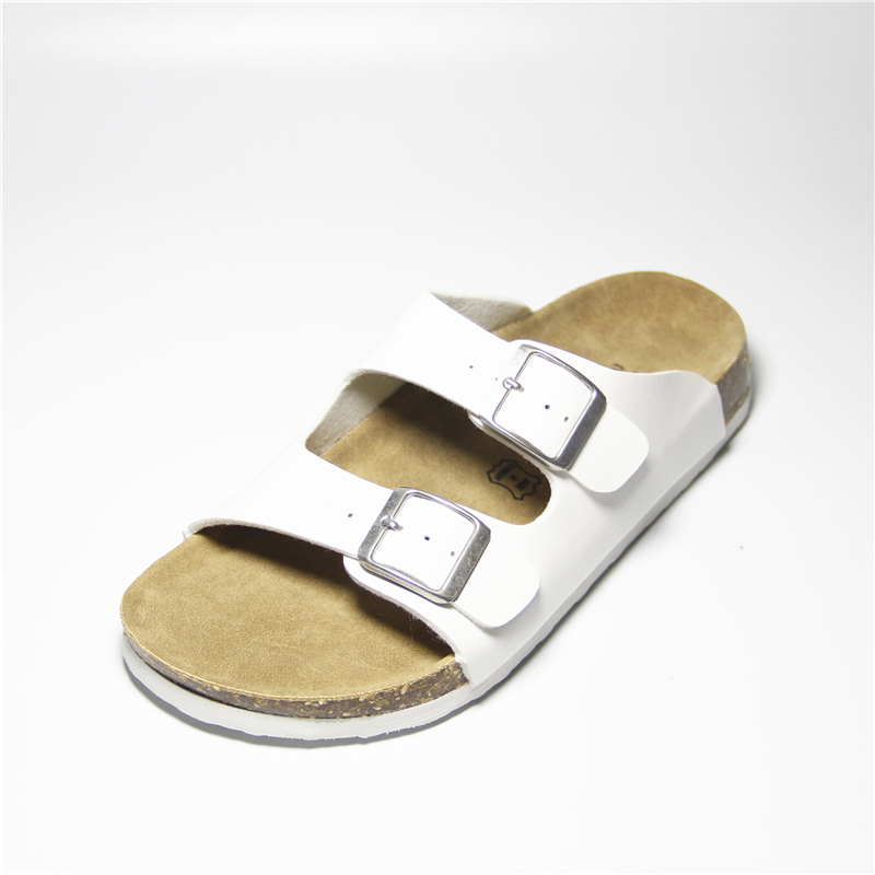 87b1c9a830d5 Women Slippers Sandals Cork Shoes Summer Beach Sandals Fashion Lovers Mixed  Color Shoes Buckle Slides Plus Size 35 42-in Slippers from Shoes on ...