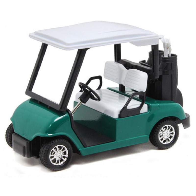 New Arrival 1 20 Toys For Children Metal Golf Cart Alloy Models Mini Battery Model Sightseeing Vehicles Kids In Casts Toy From