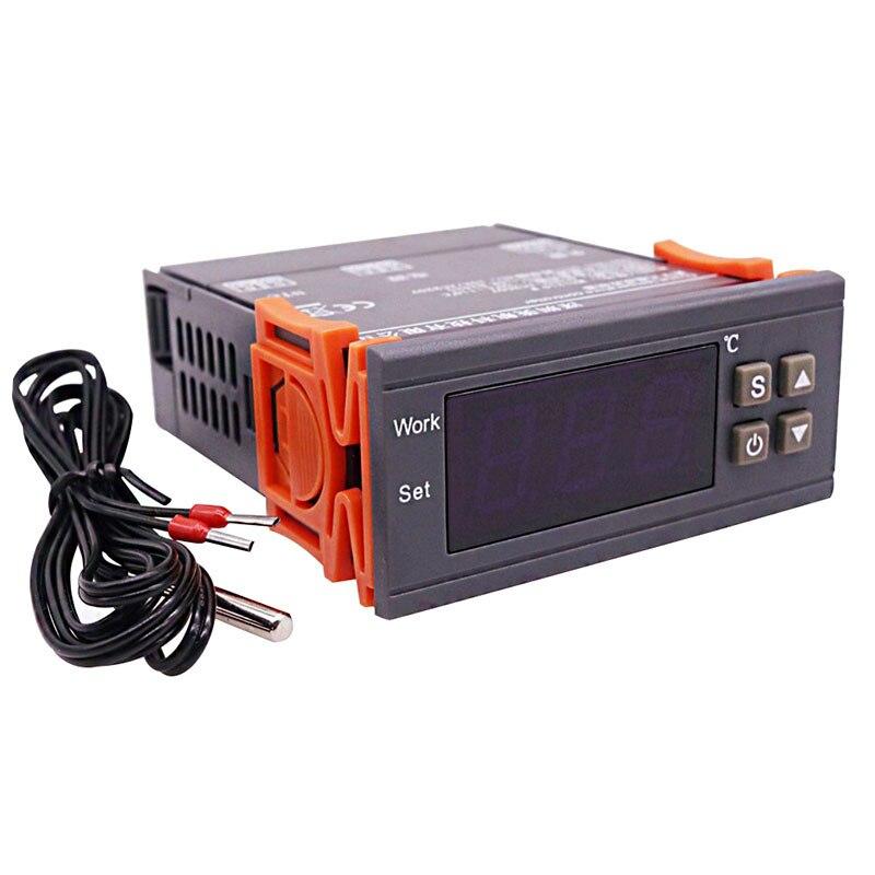 5 セット AC90V 〜 AC250V LED デジタル温度コントローラ 2 リレー出力サーモスタットインキュベーターファームペット家禽給餌ツール  グループ上の ホーム&ガーデン からの バッグ & アクセサリー の中 1