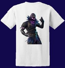 Raven Skin Fort T Shirt Add Gamertag on Back S M L XL Free shipping Harajuku Tops t shirt Fashion Classic Unique t-Shirt