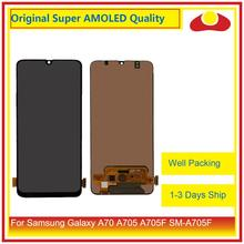 10Pcs/lot Original For Samsung Galaxy A70 A705 A705F SM-A705F LCD Display With Touch Screen Digitizer Panel Pantalla Complete