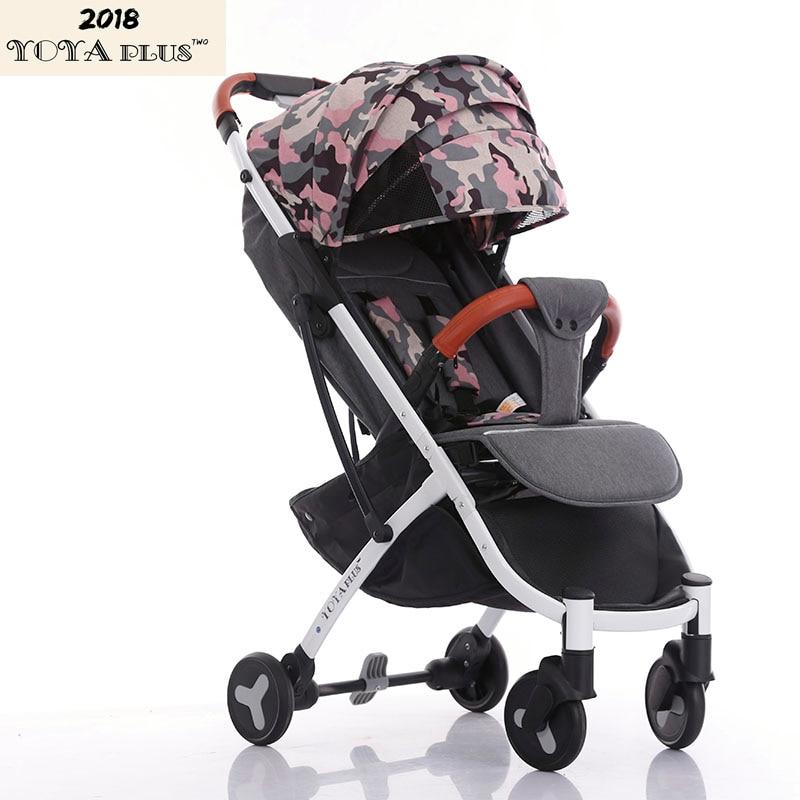YOYAPLUS 2018 новый стиль детская коляска легкий складной зонт автомобиль может сидеть может лежать ультра-легкий портативный на самолете 6