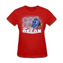"""""""Save the Ocean"""" Finding Nemo-inspired women shirt / girlie"""