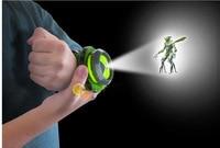 Hot Selling Ben 10 Omnitrix Watch Style Kids Projector Watch Japan Genuine Ben 10 Watch Toy