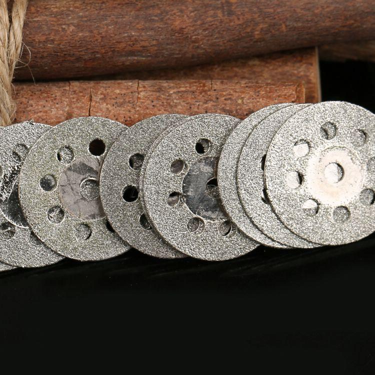 """10x22 mm šlifavimas Diskinis diskinio pjovimo diskas """"Dremel"""" sukamasis įrankis """"Dremel"""" priedai su grąžto gręžtuvu Deimantinis diskas"""