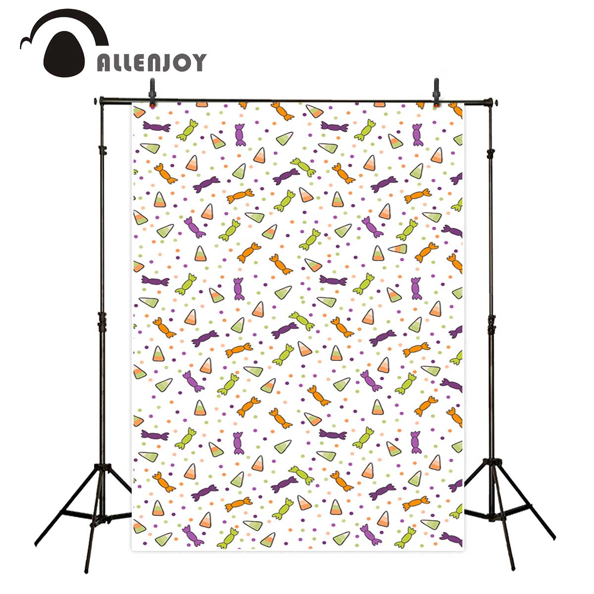 Allenjoy photography backdrop Spotted Watermelon Child Candy Photo professional festival backdrop photographic customize props allenjoy photography backdrop spotted