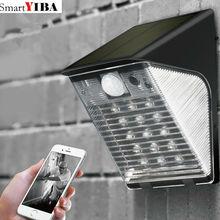SmartYIBA Outdoor Security Camera Solar WIFI Wireless IP Camera 1080P Camera energy saving Waterproof Support 32GB TF card