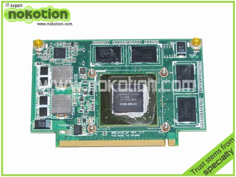 FOR ASUS N75SF VIDEO CARD 60-N5UVG1500-B01 MGM_N12E_2P REV 2.1 NVIDIA GT555M 1GB graphics card