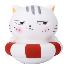 1PC Cute Bad Cat Slow Rising Collection Squeeze Stress Reliever Toy Squishy Stress Relief Toy Funny Kids Toy 0311(China)