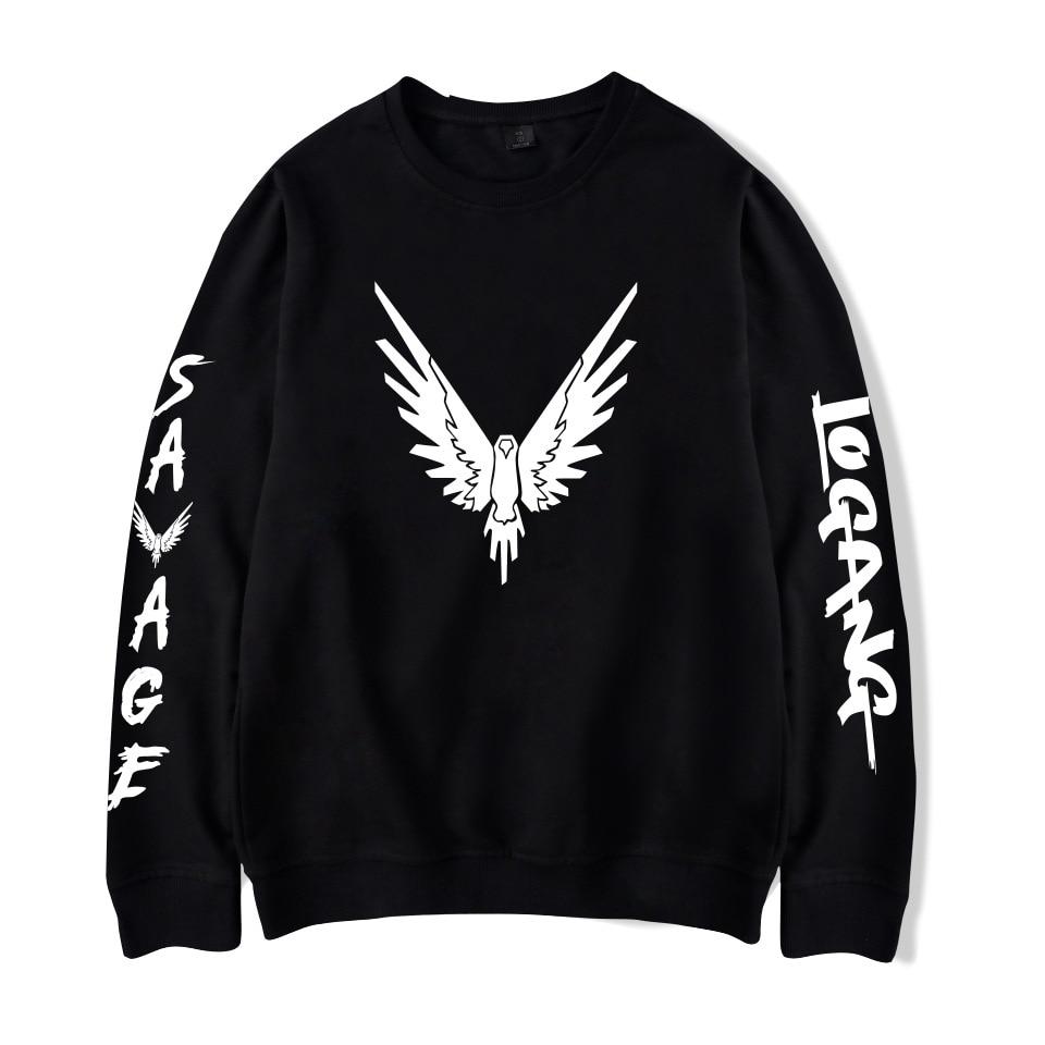 Logan Paul LOGANG Maverick Mens Hoodie Casual Loose pullover Sweatshirt jacket
