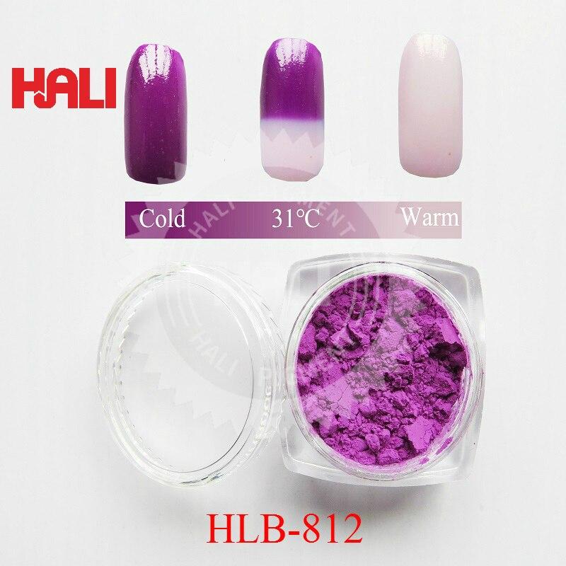 Hot active pigment, เปลี่ยนสีโดยอุณหภูมิ, อุณหภูมิสี, thermochromic pigment, สี: สีม่วง-ใน สีอะคริลิก จาก อุปกรณ์ออฟฟิศและการเรียน บน   1