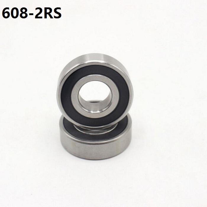 500pcs lot 608 2RS 608RS 608 2RS rubber sealed deep groove ball bearing 8 22 7