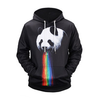 New Arrival Men Women Sweatshirt Hoody Hoodie Panda Print 3D Hoodies Long Sleeve Mens Hoodies Streetwear