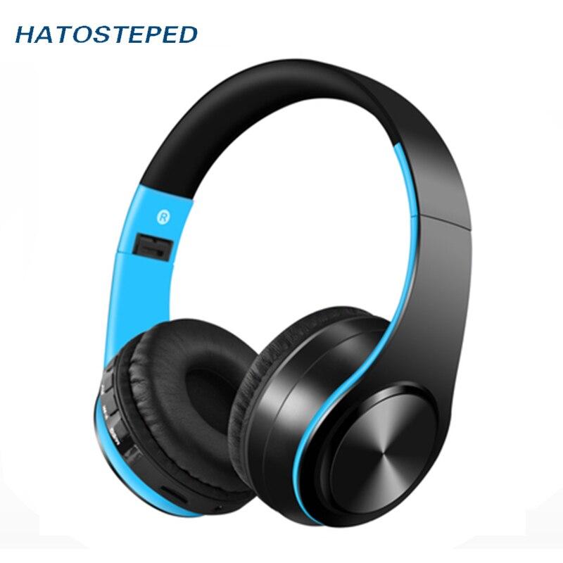 Offerte HATOSTEPED Cuffie Senza Fili Bluetooth Auricolare Cuffia Auricolare Auricolari  Auricolari Con Microfono Per PC del telefono mobile di musica Miglior ... d71c12f7babe