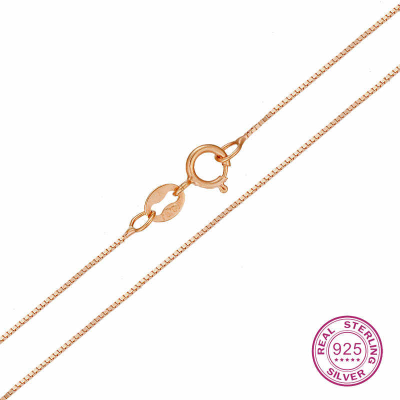 925 Sterling Silver Necklace Women Snake Collarbone Chain Real Solid Classic Party Discount Good Fine Beauty Smart New Like Hot