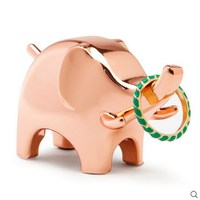Rose Gold Animals Ring Holders Jewelry Holder Storage Rack Valentine S Day Gifts Wedding Gifts