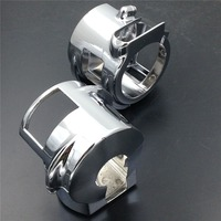 Motorcycle Parts Chrome Switch Housing Cover For Honda VTX 1800 Model C R S F N