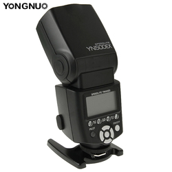 YONGNUO YN-500EX HSS TTL Flash Speedlite YN500EX for Canon D4 D3x D3s D3 D2x D700 D300s D300 D200 D7000 D90 D80 LED Flash Light