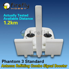Antenna Refitting Long Range Antenna Booster Refitting Combo White for font b DJI b font Phantom