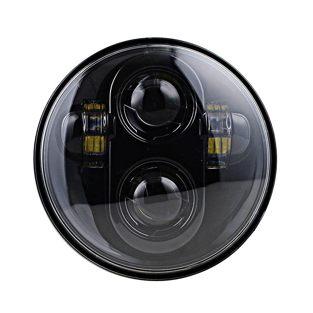 """5 3/4 """"pour moto r phare 5.75"""" nouveau pour Street 750 moto LED phare pour Softail Dyna et Sportster modèles"""