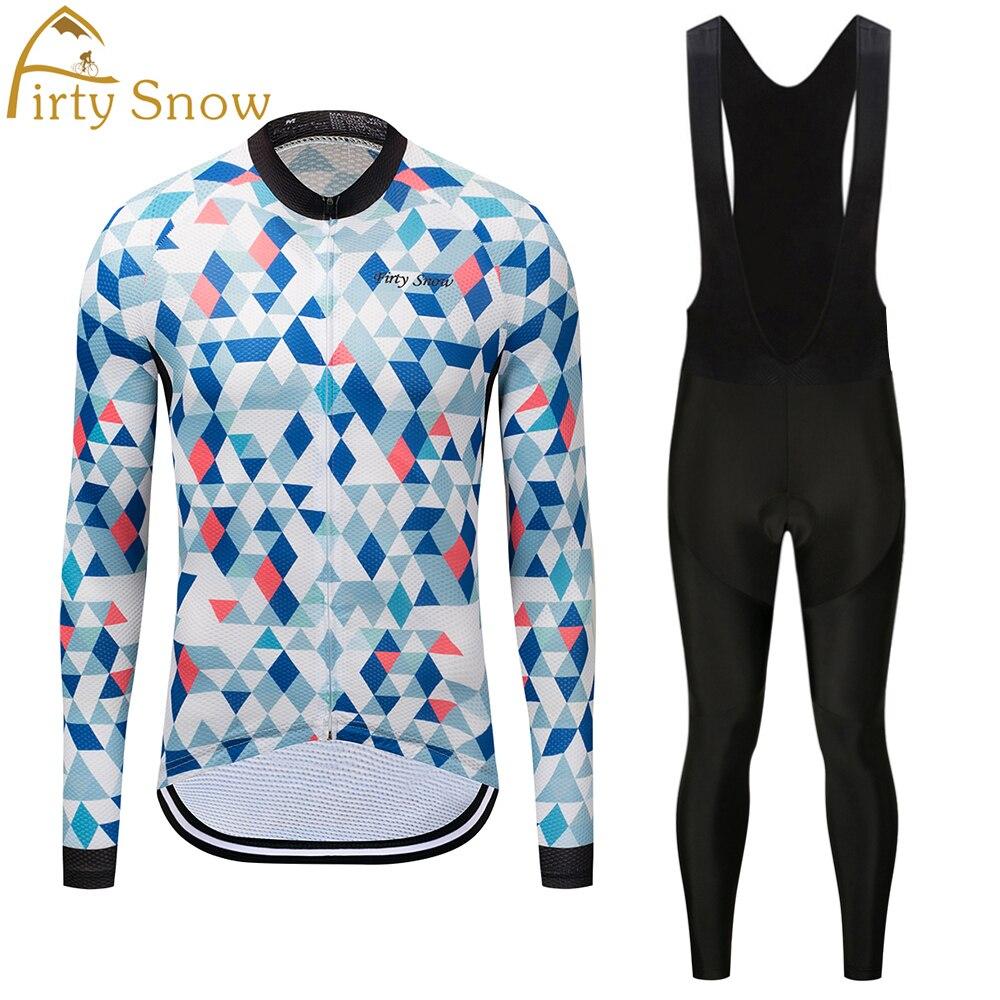Firty снег с длинным рукавом велосипедные майки указан Весна MTB велосипеда одежда Ропа Майо гоночный велосипед износ Костюмы для мужчин