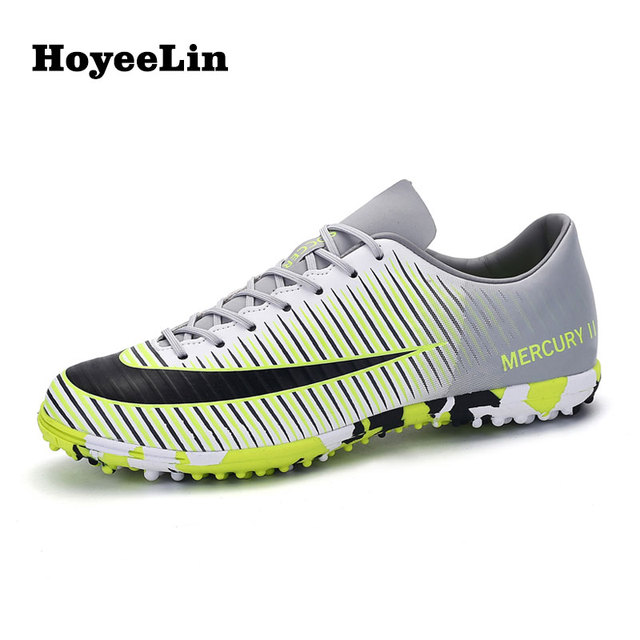 6bd3ebaf261 New Arrival Men s Soccer Futsal Shoes Outdoor TF Turf Football Trainers  Durable Sports Soccer Shoes Sneakers EU Size 39-44