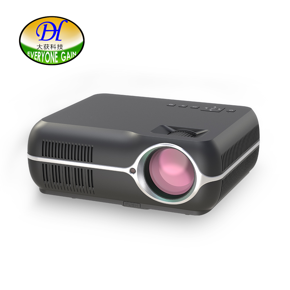 Tutti Guadagno DH-A10 Video Home Android WiFi Projetor Full HD LED LCD Home Cinema Theater Proiettore Smart TV Video Beamer