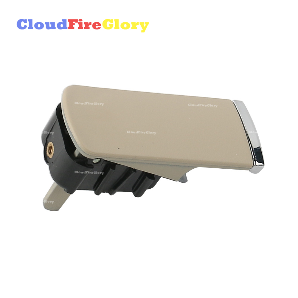CloudFireGlory For Audi A4 B6 B7 8E 2001-2008 For Seat Exeo 2009-2014 Beige Glove Box Catch Lock Lid Handle No Lock 8E1857131 image