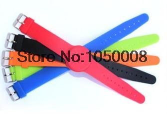13.56Mhz RFID wristband silicone bracelets wrist band NFC smart MF 1K S50 for access control/Fitness/Swimming pools 100pcs/lot все цены