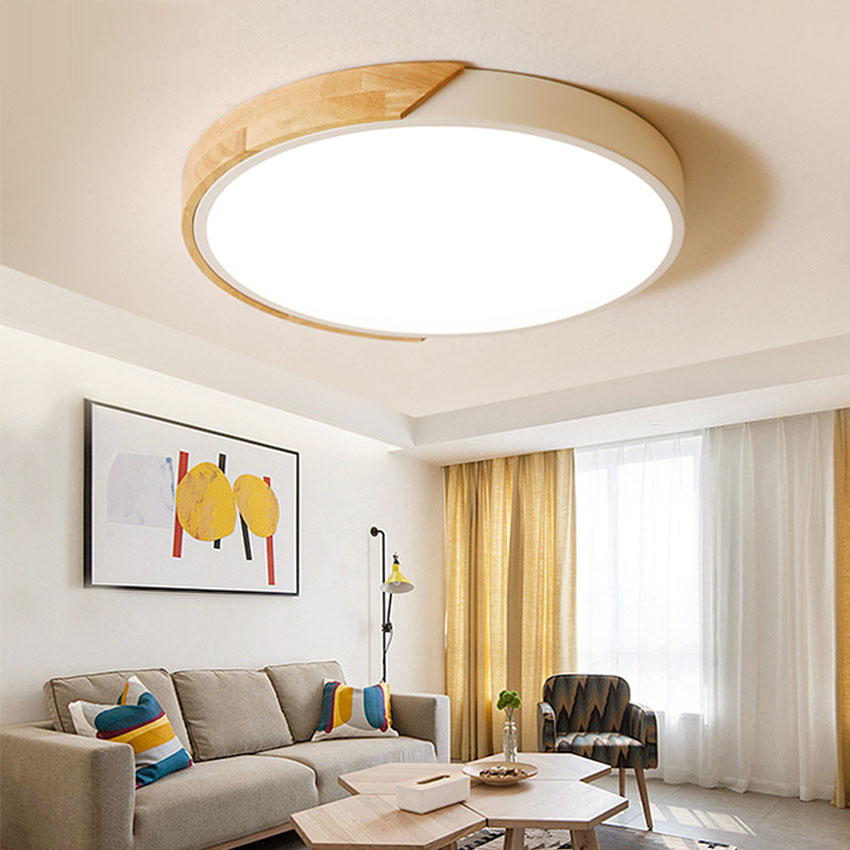 NEW Nordic solid wood Pendant Light For Home Lighting Modern Hanging ...