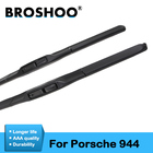 "BROSHOO Car Soft Rubber Clean The Windshield Wiper Blades For Porsche For 944 19""&19"" ,1985 1986 1987 1988 1989 1990 1991 1992"
