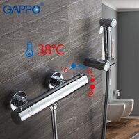 GAPPO Bidets термостат крана античный хромированный средства для чистки туалетов набор душ спрей биде Премиум медные краны для туалета душ