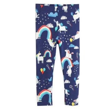 Unicorn Print Leggings for Girls
