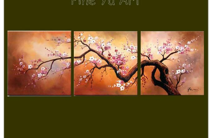 Cherry Blossom Canvas Wall Art popular chinese cherry blossom art-buy cheap chinese cherry