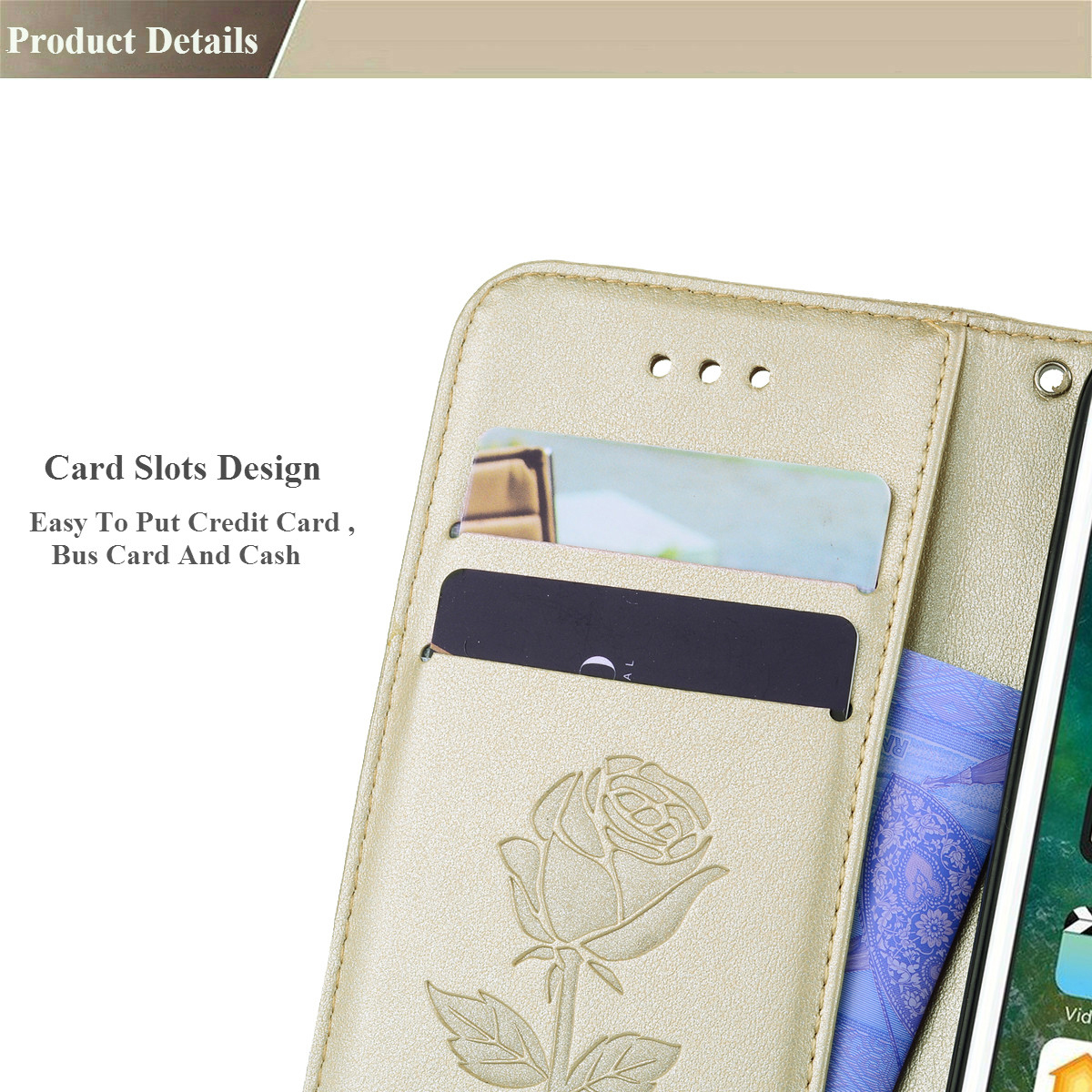 3D Flower Leather Flip Case For Xiaomi Pocophone F1 Mi A1 5X A2 Lite Redmi 5 Plus 6 6A S2 3S 4A Note 4 4X 5 Pro 5A Global Cover in Wallet Cases from Cellphones Telecommunications