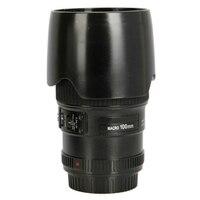 EF 100mm f/2.8L IS Macro USM Camera Lens Drink Vacuum Cup Mug Plastic&Stainless steel
