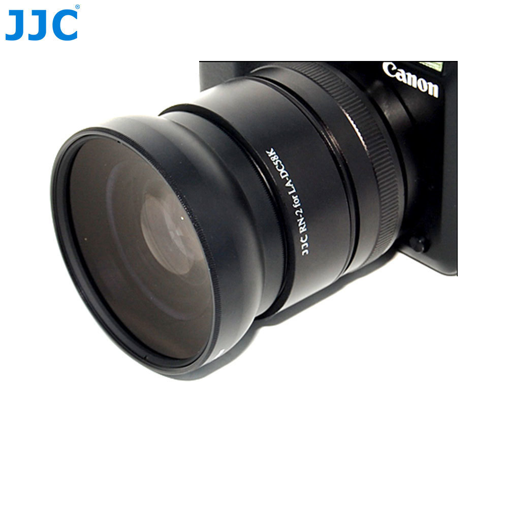 JJC TC-DC58D Teleconverter Conversion Lens Adapter Ring Tubes for Canon Powershot G10/G11 Digital Camera (RN-2) silver and black original lens zoom unit for canon powershot s110 digital camera repair part with ccd