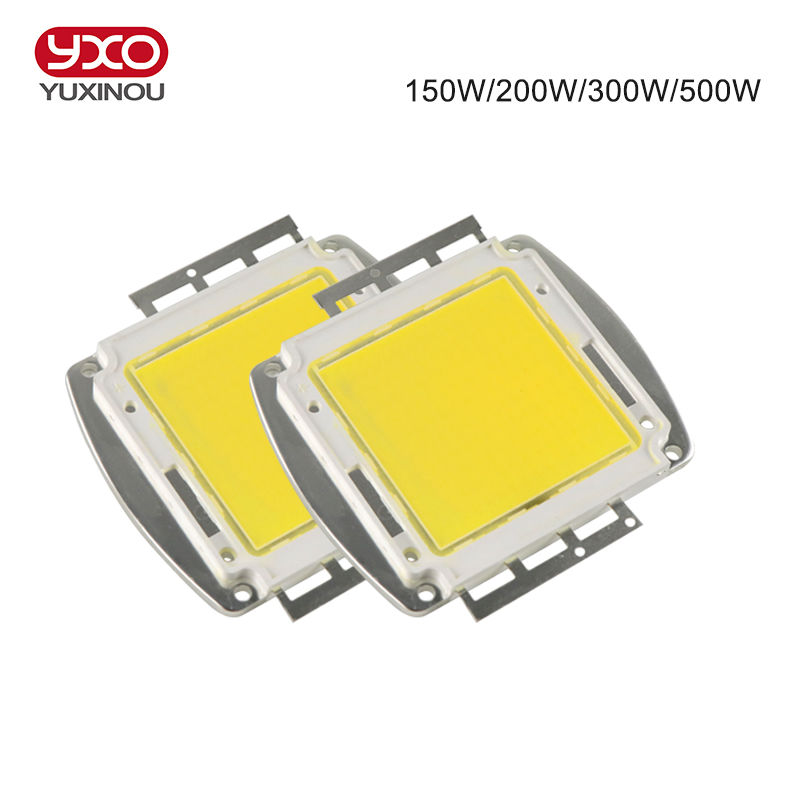High Power LED COB Bulb Chip 150W 200W 300W 500W Natural Cool Warm White 380-840NM LED Grow Chip  for LED Grow High Bay Light high quality 30w cold warm white cob high power led stripe led light chip emitting diode bulb 3000lumen 800ma 36 39v 2pcs lot