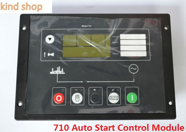 Generator Auto Start Control panel P710 replace Genset controller DSE710 free shipping deep sea generator set controller module p5110 generator control panel replace dse5110