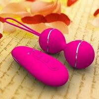 Pochwy Kulki Zdalnego Wibrator Seks Dla Kobiety Kegel Piłki Vibrating Egg Wibratory Dla Kobiet Dorosłych Sex Zabawki