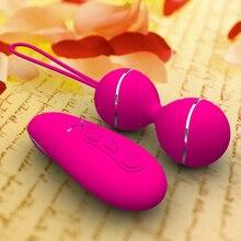 Vaginal Balls Remote Vibrator Sex Toys For Woman Vibrating Egg Vibrators For Women Kegel Balls Adult Sex Toys