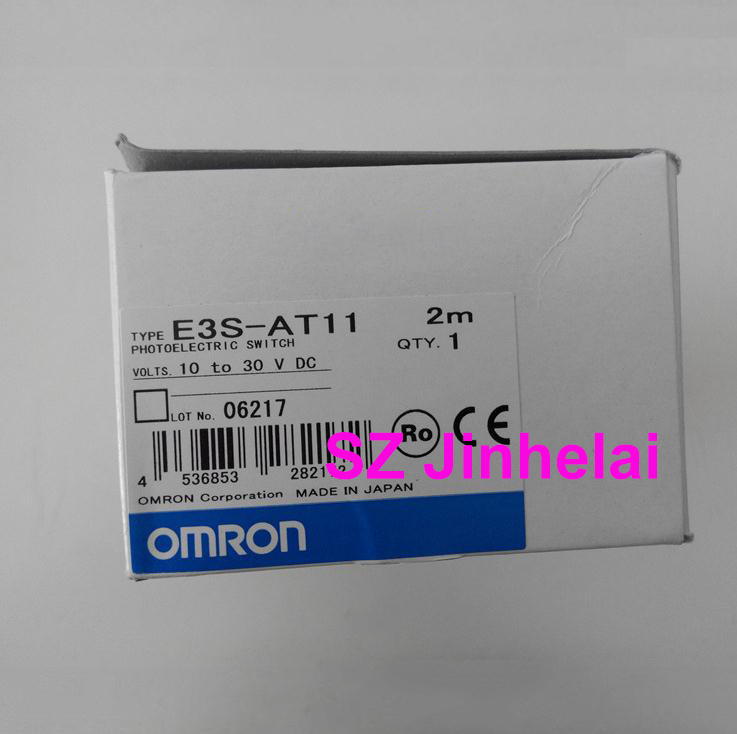 OMRON E3S-AT11 Authentic original Photoelectric switch  2M  (is E3S-AT11-L and E3S-AT11-D)OMRON E3S-AT11 Authentic original Photoelectric switch  2M  (is E3S-AT11-L and E3S-AT11-D)