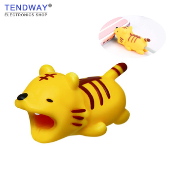 Tendway Cable bite Saver Chompers Protector Dog Animal  for iphone Cable Management Organizer Protector Usb Earphone Accessories